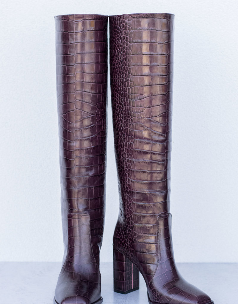 Paris Texas Square Toe Tall Boot
