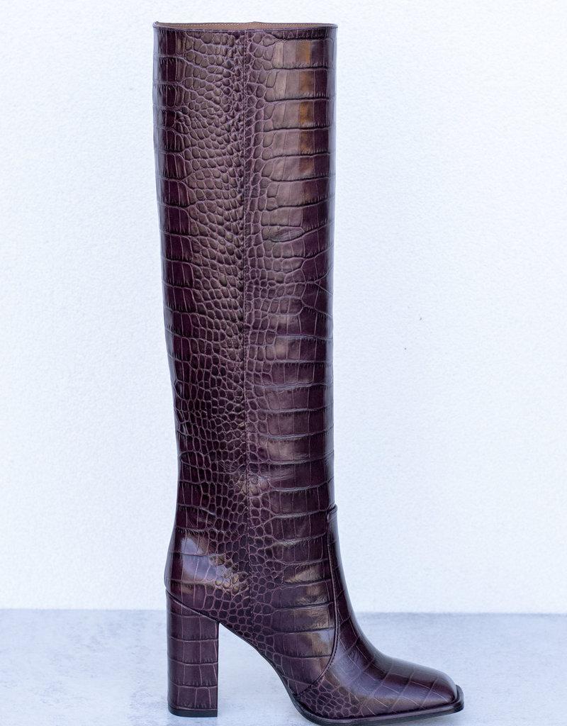 Paris Texas Square Toe Tall Boot