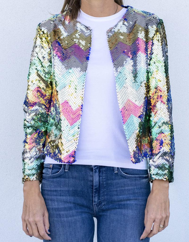 Vilagallo Mila Sequin Jacket