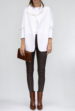 NFP Wool Convertible Cardigan Winter White