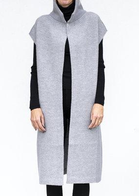 NFP Wool Lounge Cardigan Light Grey