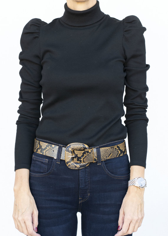 Veronica Beard Cedar Turtleneck Black
