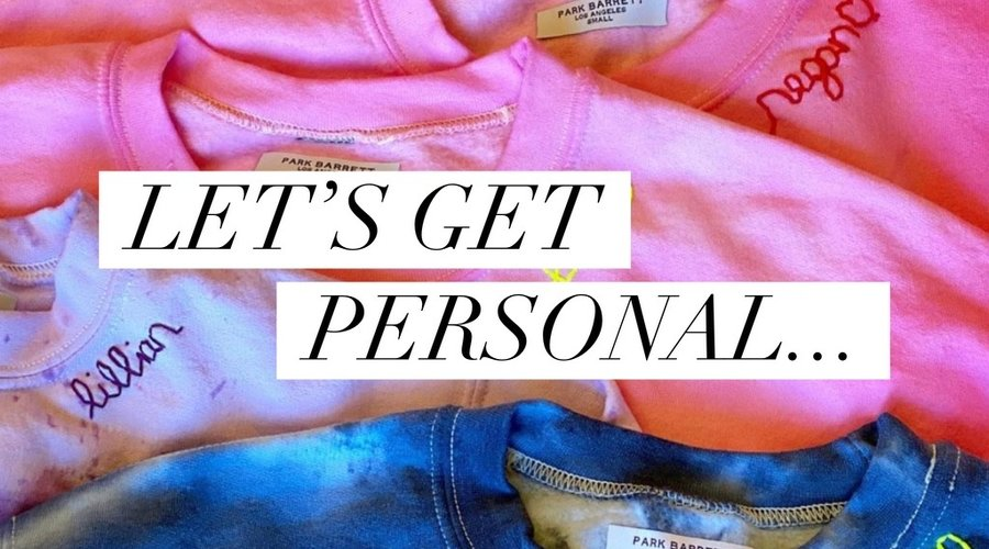 Let's get personal....