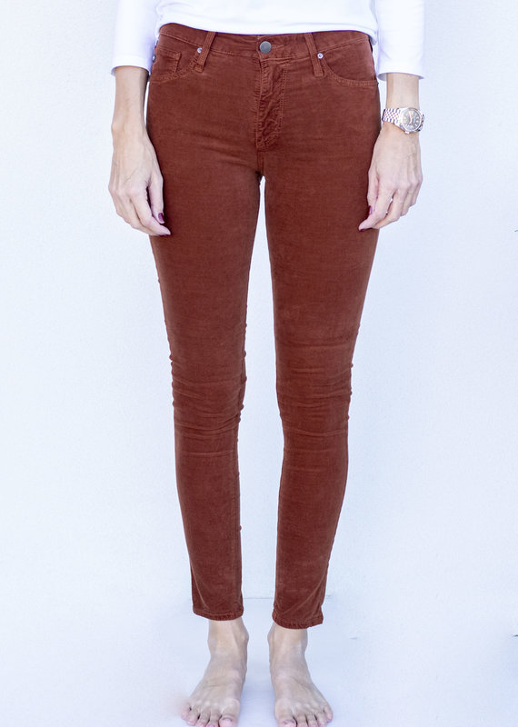 AG Jeans Farrah Skinny Fired Copper