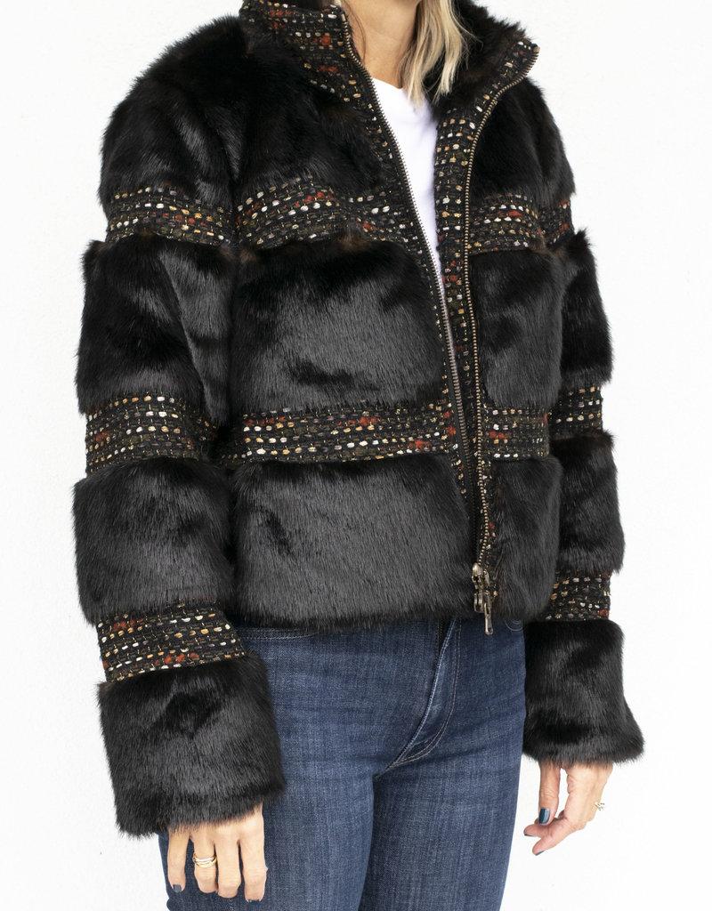 Veronica Beard Fraya Fur Coat