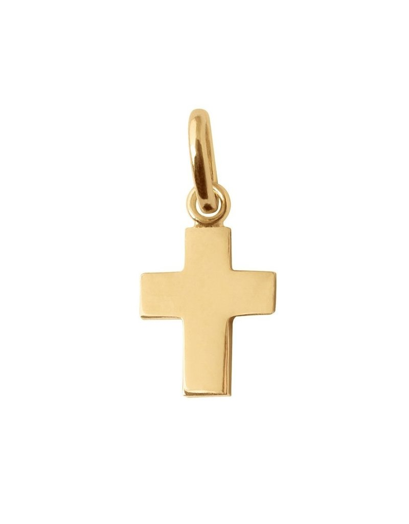 Gigi Clozeau Gold Cross Pendant