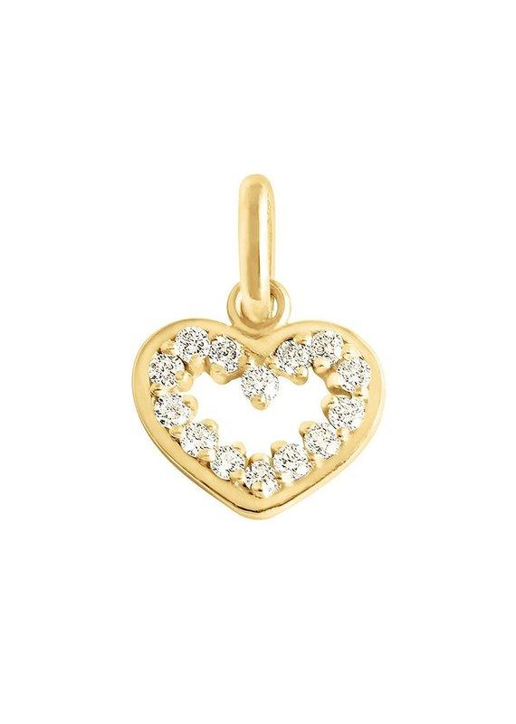 Gigi Clozeau Supreme Heart Pendant
