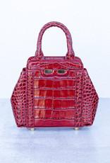 Bene Handbags The Mini Nott-Red Gator