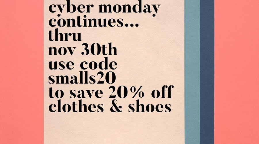 Cyber Monday continues!