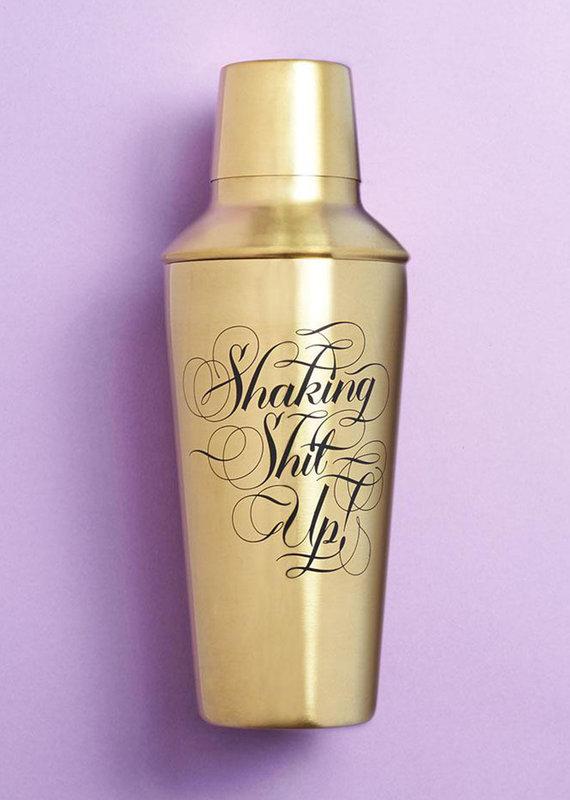 Hachette Shaking Shit Up Cocktail Shaker