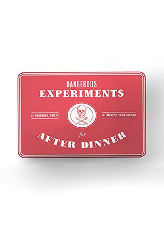 Hachette Dangerous Experiments for After Dinner