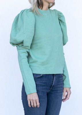 Ulla Johnson Philo Pullover Turquoise
