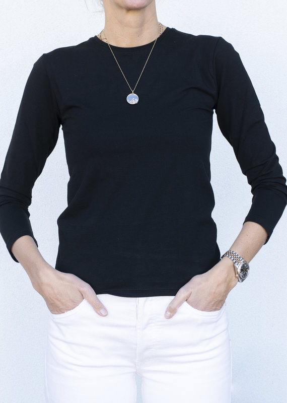 ATM Pima Bracelet Sleeve Tee- 2 colors