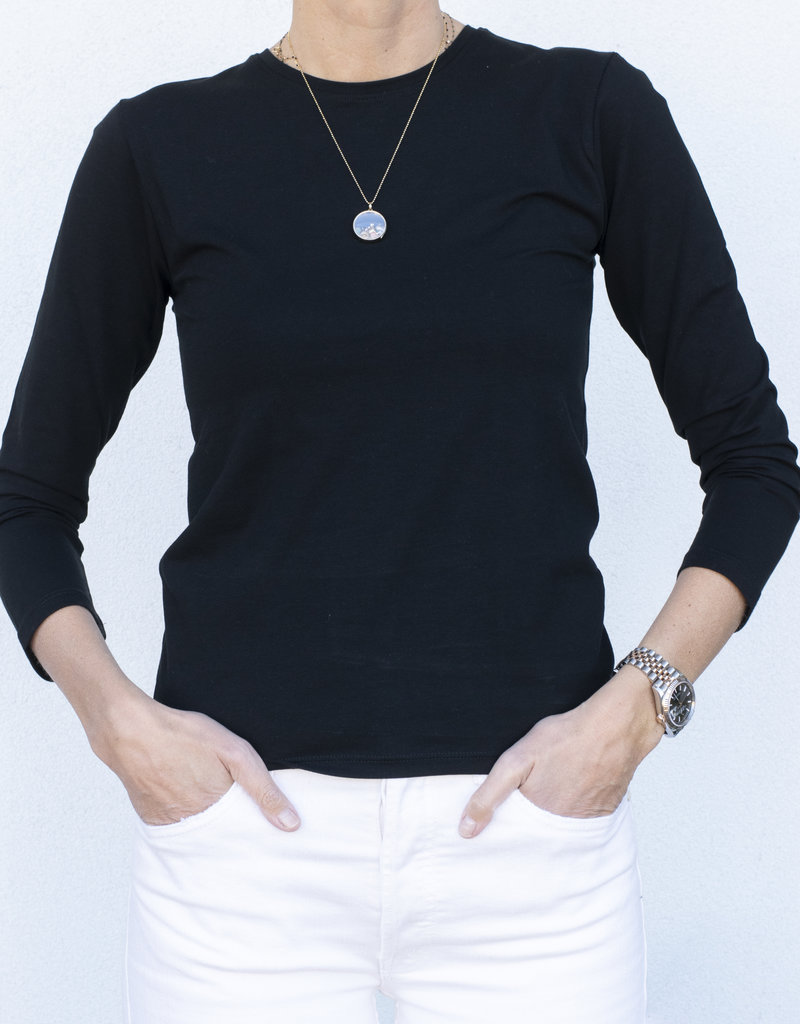 ATM Pima Bracelet Sleeve Tee- 2 colors