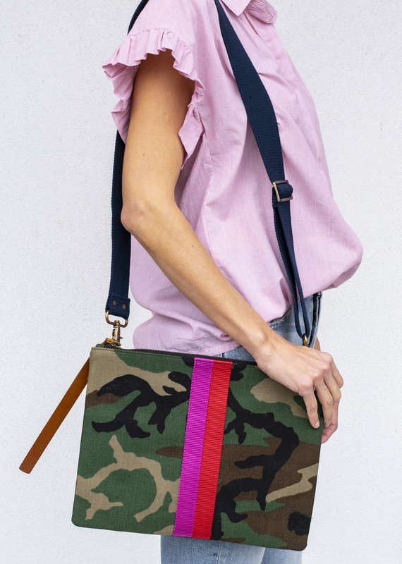 Parker Thatch Camo with Stripe Lee Bag