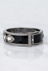The Woods Fine Jewelry Enamel and Diamond Bangle
