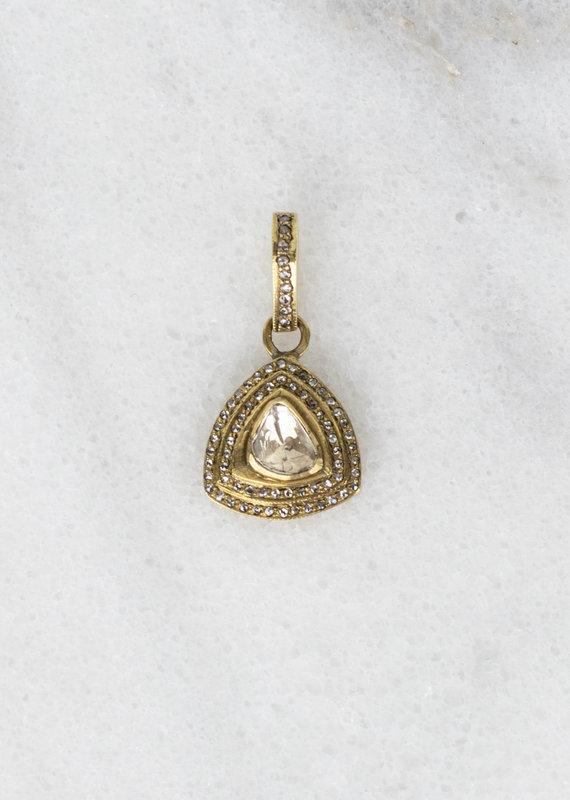 The Woods Fine Jewelry Small Brass Pendant