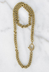 The Woods Fine Jewelry Brass Curb Chain