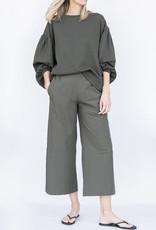 Ottod'ame Knit Sweatshirt-Militare