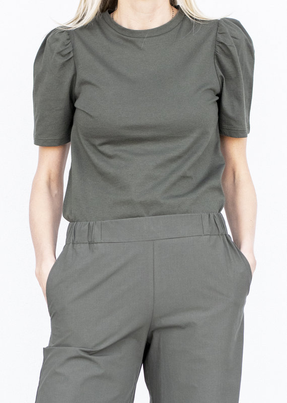Ottod'ame Knit T Shirt-Militare