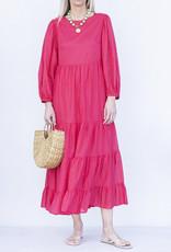 Ottod'ame Ele Dress-Coral