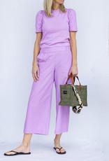 Ottod'ame Knit T Shirt-Lavender