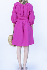 Ottod'ame Hot Pink Dress