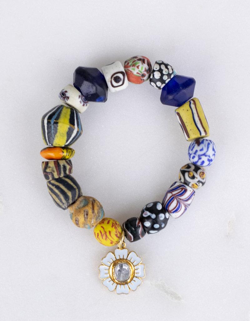The Woods Fine Jewelry Multicolor Flower Power Bracelet