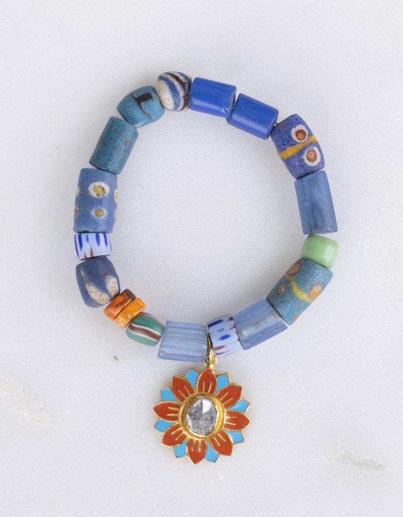 The Woods Fine Jewelry Blue Flower Power Bracelet