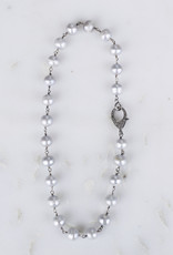 The Woods Fine Jewelry Pearl and Pave Necklace