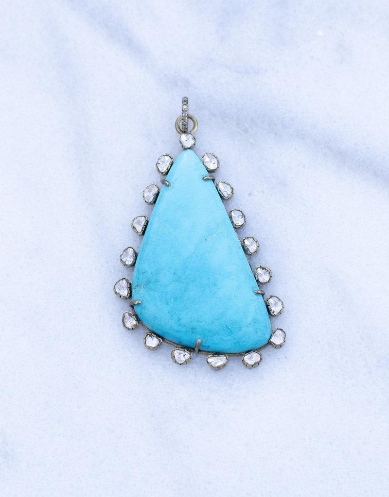 The Woods Fine Jewelry Turquoise Pendant