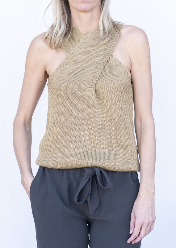 Brochu Walker Ina Wrap Tank