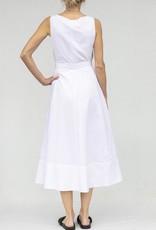Saloni Bibba Dress White