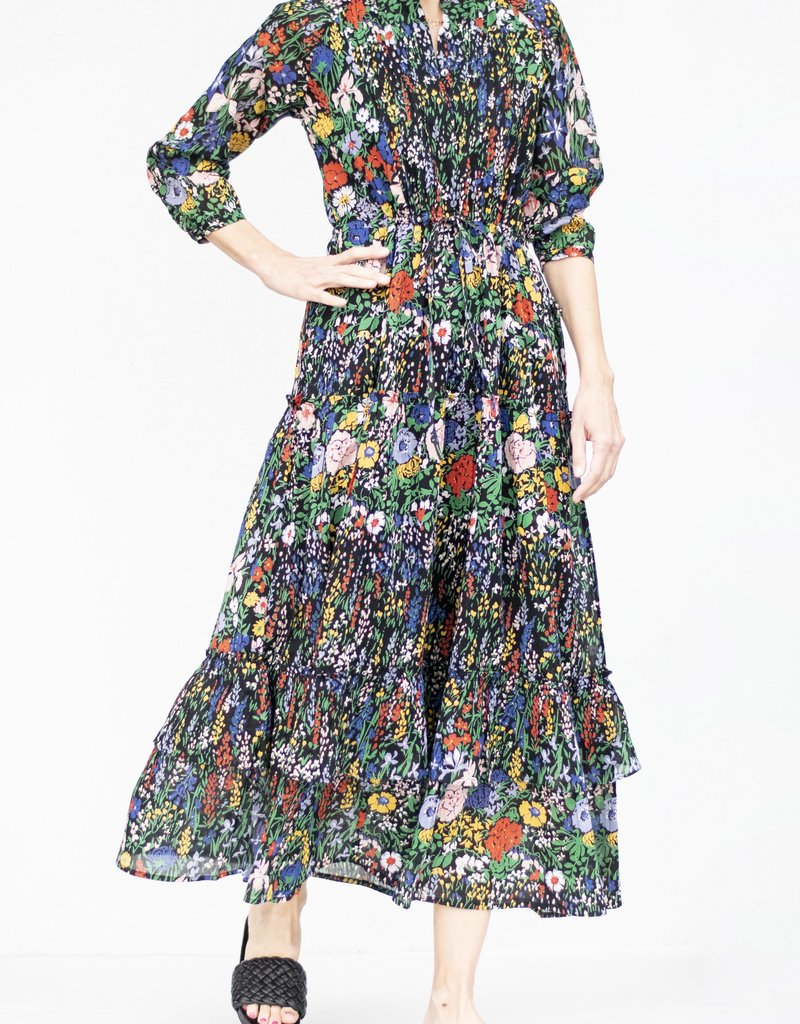 Banjanan Bazaar Dress-Black