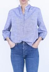 Trovata Sara Henley Shirt Chambray