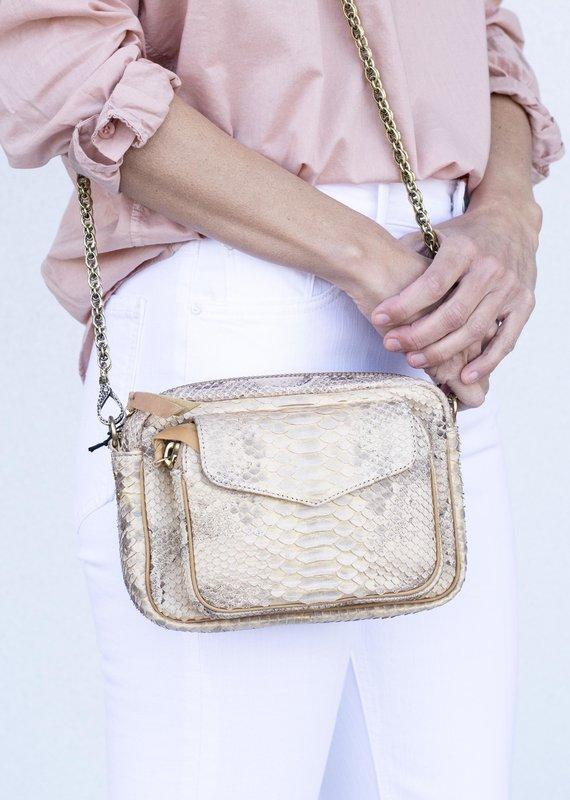Claris Virot Charly Bag-Champagne