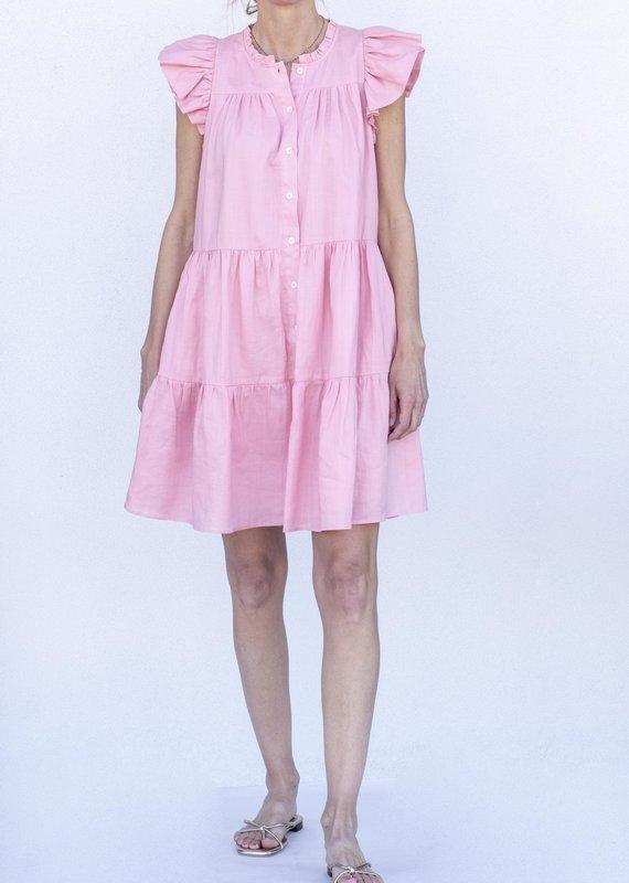 Sea NYC Shannon Scallop Dress