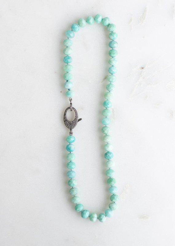 The Woods Fine Jewelry Amazonite Beaded Chain