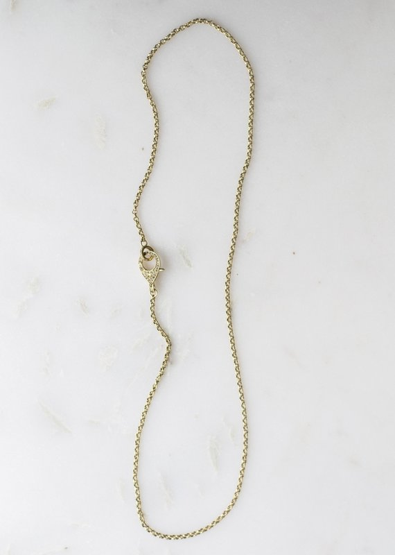 The Woods Fine Jewelry Long Gold Chain