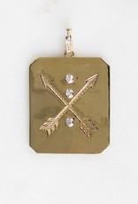 The Woods Fine Jewelry Diamond Arrow Pendant