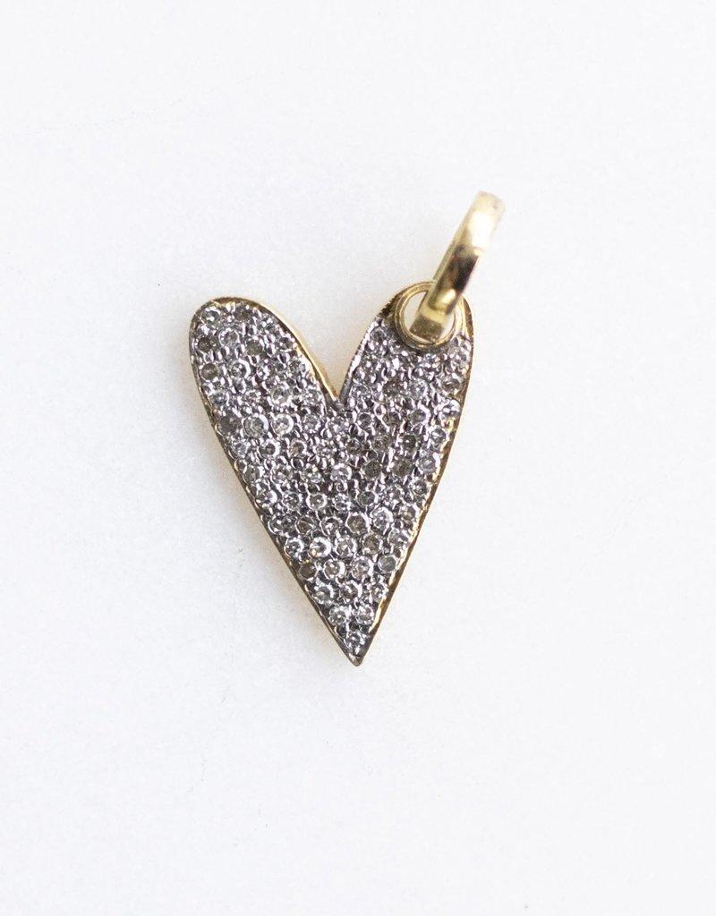 The Woods Fine Jewelry Small Diamond Heart Pendant