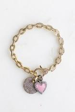The Woods Fine Jewelry Diamond Link Bracelet