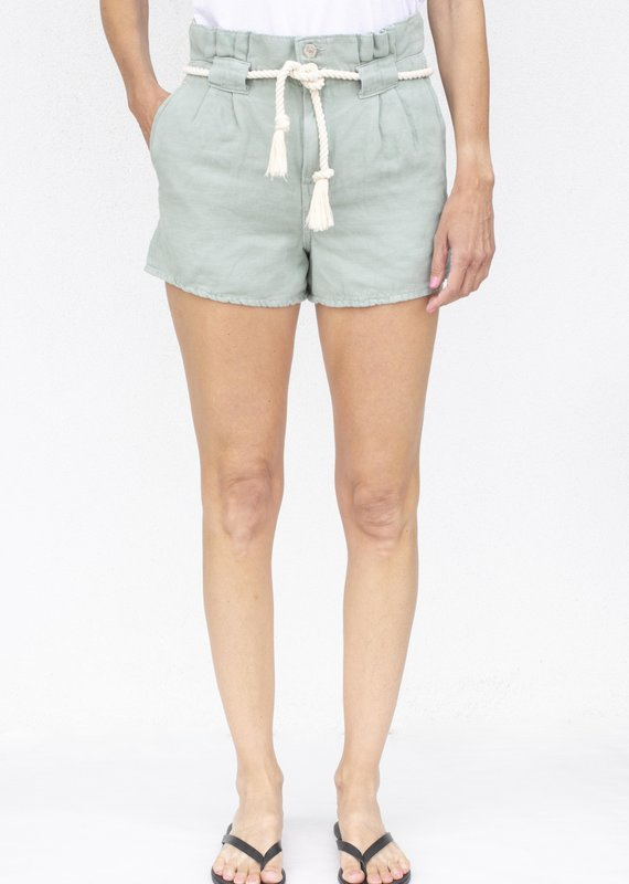Veronica Beard Karter Pleated Short
