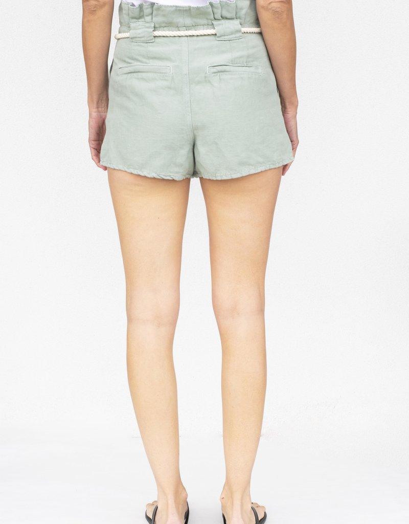 Veronica Beard Karter Pleated Short
