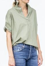 A Shirt Thing Delilah Top-Moss