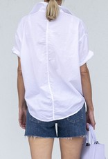 A Shirt Thing Delilah Top-White