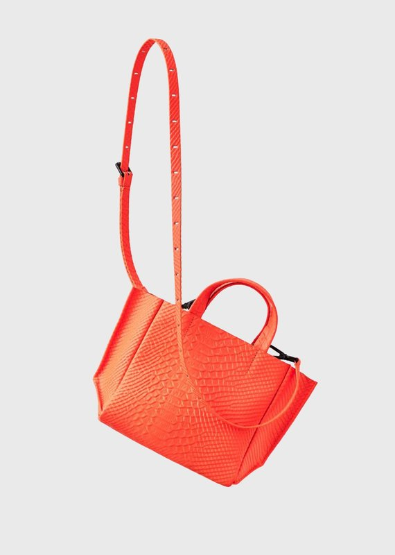 Ampersand As Apostrophe Micro Tote-Neon Orange