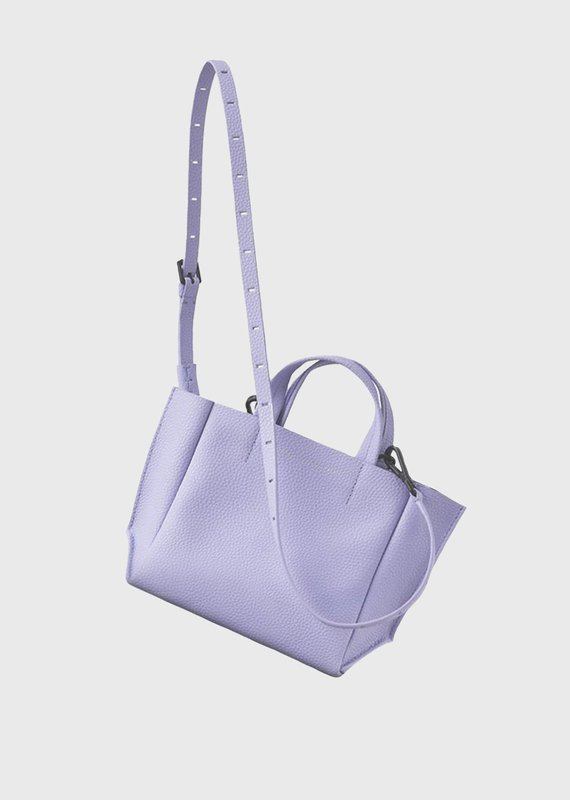 Ampersand As Apostrophe Micro Tote-Lilac
