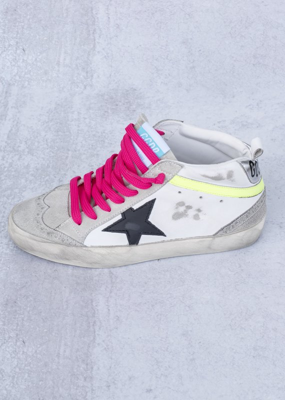 Golden Goose Mid Star Wave Suede