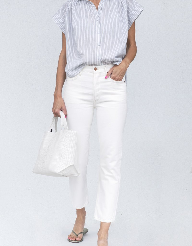 citizens of humanity Penny Blouse-Cloud Stripe